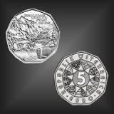 5 EURO 75 Jahre Grossglockner Österreich 2010
