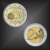 2 EURO Römische Verträge Luxemburg 2007