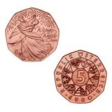 5 EURO Wiener Walzer Österreich 2012