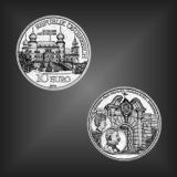 10 EURO Schloss Artstetten Österreich 2004