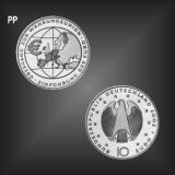 10 EURO EURO Währungsunion BRD 2002 PP