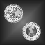10 EURO EURO Währungsunion BRD 2002