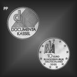 10 EURO Documenta Kassel BRD 2002 PP