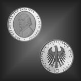 10 EURO Eduard v. Möricke BRD 2004