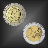 2 EURO 10 Jahre WWU Malta 2009