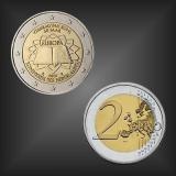 2 EURO Römische Verträge Niederlande 2007