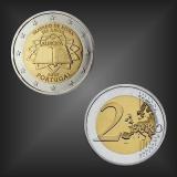 2 EURO Römische Verträge Portugal 2007