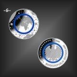 5 EURO Polymer Planet Erde BRD 2016 -G-