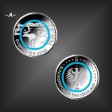 5 EURO Polymer Subpolare Zone BRD 2020 -A-