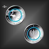5 EURO Polymer Subpolare Zone BRD 2020 -D-