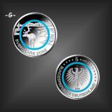 5 EURO Polymer Subpolare Zone BRD 2020 -G-