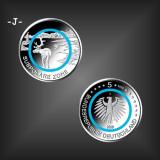5 EURO Polymer Subpolare Zone BRD 2020 -J-
