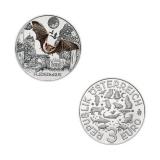 3 EURO Tier-Taler Fledermaus Österreich 2016