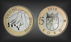 5 EURO Satakunta Finnland 2010