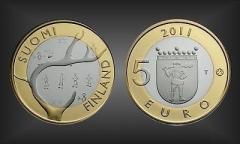 5 EURO Lappland Finnland 2011
