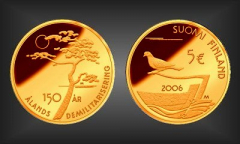 5 EURO Entmilitarisierung Finnland 2006