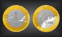 5 EURO EU-Präsidentschaft Finnland 2006