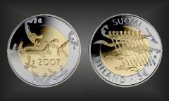 5 EURO Unabhängigkeit Finnland 2007
