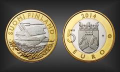 5 EURO Karelien Finnland 2014