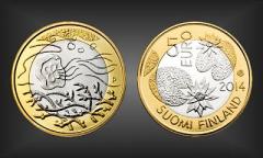 5 EURO Wasser Finnland 2014