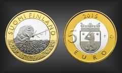 5 EURO Satakunta Finnland 2015