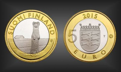 5 EURO Ostrobothnia Finnland 2015