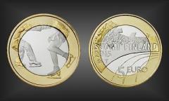 5 EURO Eiskunstlauf Finnland 2015