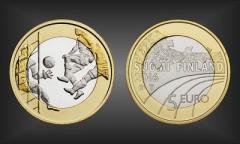 5 EURO Fussball Finnland 2016