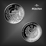 25 EURO Deutsche Einheit BRD 2015 -D-