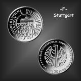 25 EURO Deutsche Einheit BRD 2015 -F-