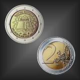 2 EURO Römische Verträge Belgien 2007
