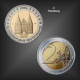 2 EURO Holstentor -J- BRD 2006
