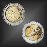 2 EURO 10 Jahre WWU Belgien 2009
