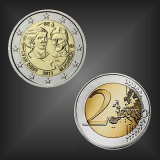 2 EURO Internationaler Frauentag Belgien 2011
