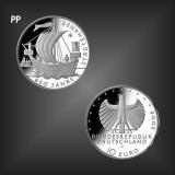 10 EURO 650 Jahre Städtehanse BRD 2006 PP