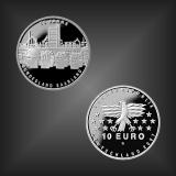 10 EURO 50 Jahre Saarland BRD 2007
