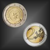 2 EURO Jahr der Entwicklung Belgien 2015