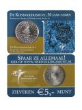 5 EURO CC 50 Jahre Statut Königreich Niederlande 2004