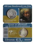 5 EURO CC Rembrandt van Rijn Niederlande 2006