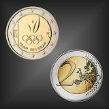 2 EURO Olympische Spiele 2016 Belgien 2016