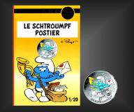10 EURO Schlumpf-Postier Frankreich 2020