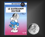 10 EURO Schlumpf-Docteur Frankreich 2020