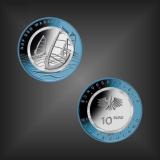 VVK 10 EURO Polymer Auf dem Wasser BRD 2021
